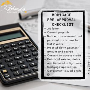 Basic Pre-Approval Checklist